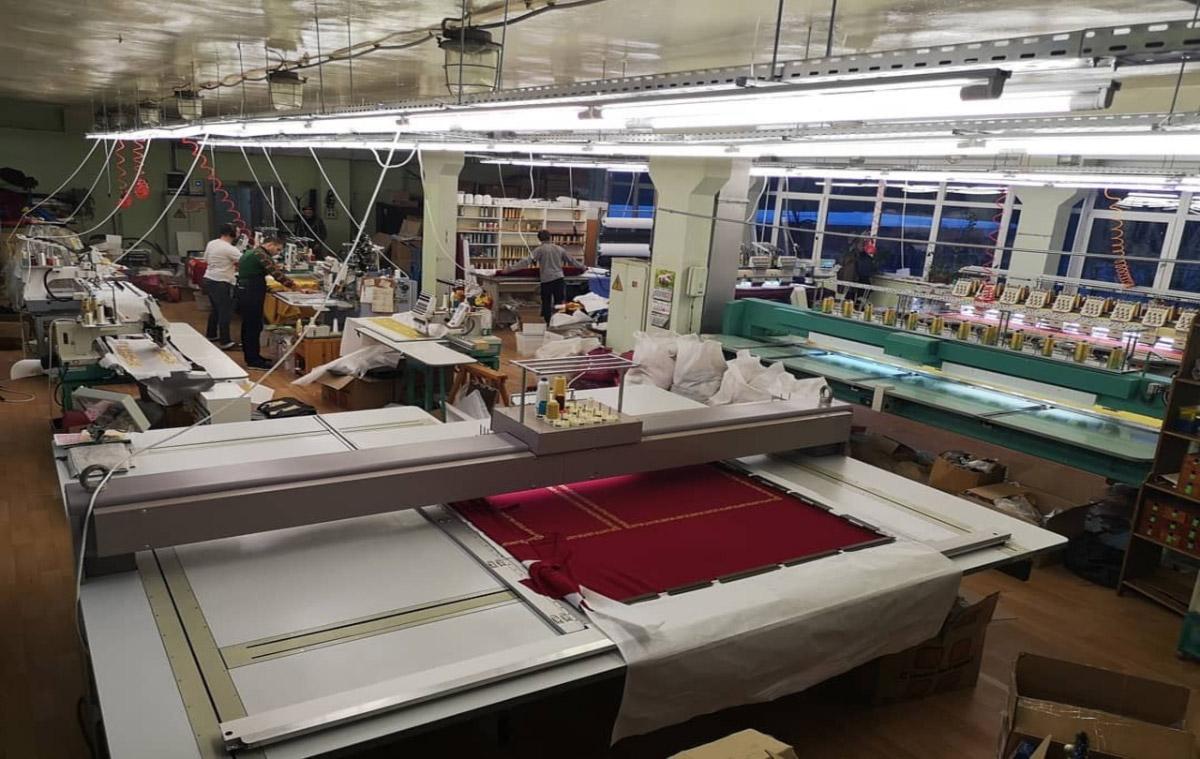 Пошивочный цех Аксамит на Херсонской
