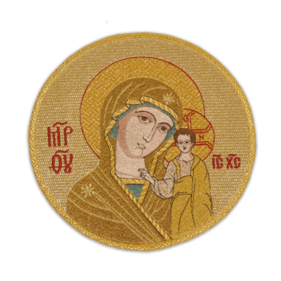 """Embroidered icon """"Our Lady of Kazan"""""""