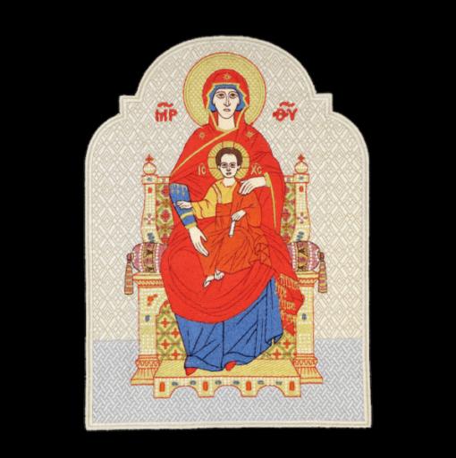 """Icon embroidered """"Tsaritsa"""""""