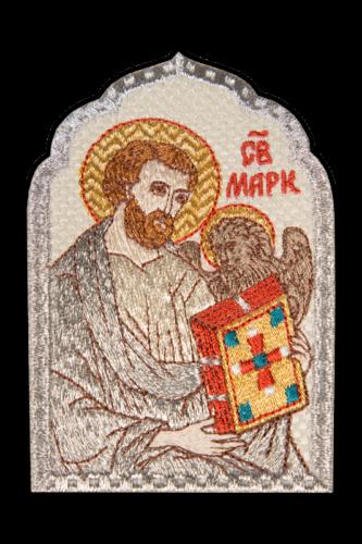 "Embroidered icon ""Mark the Evangelist"""