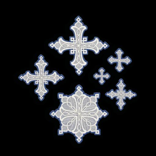 """Embroidered cross """"Yaroslavsky"""""""