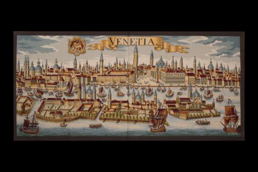 """Гобелен """"Венеция"""", старинная карта"""