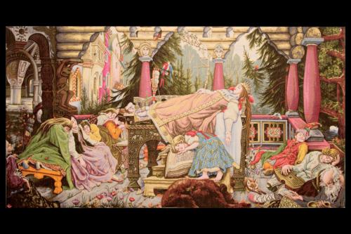 """Гобелен """"Спящая красавица"""""""