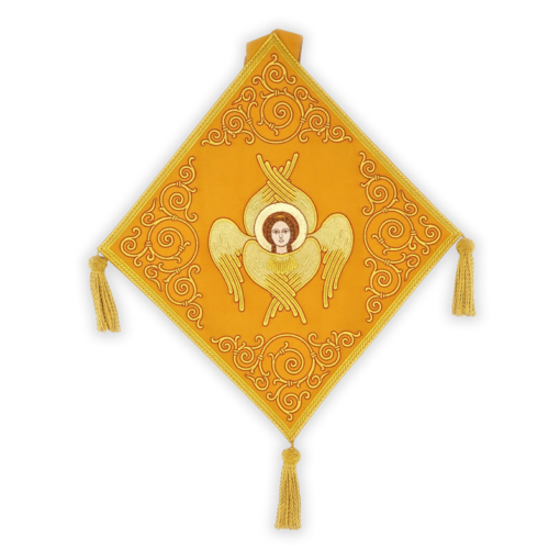 Mace embroidered with Seraphim
