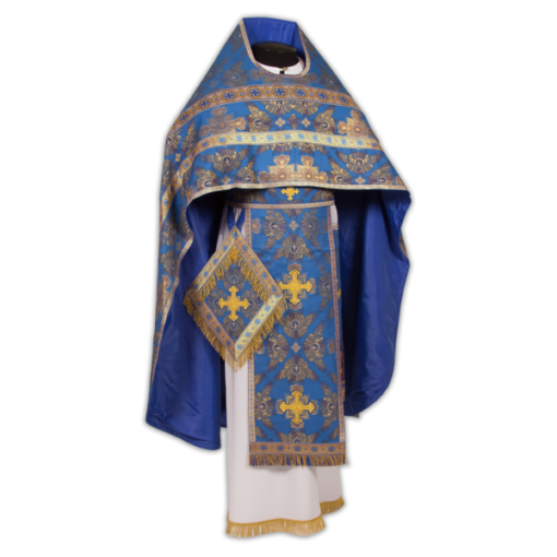 Priestly vestments brocade italian
