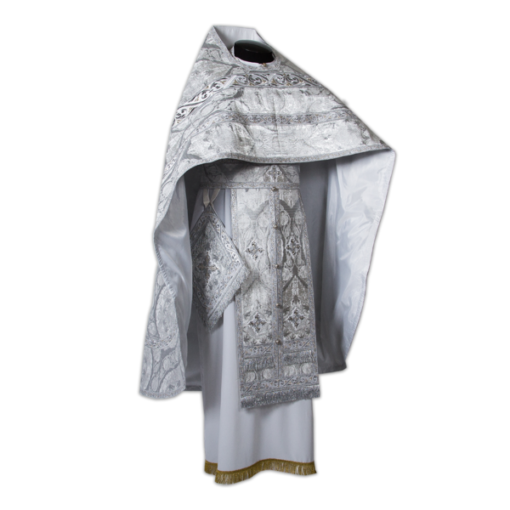 Priestly vestments Italian silk '' Lacemaker ''