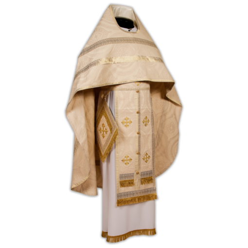 """Priestly vestments Italian silk """"Lacemaker"""""""