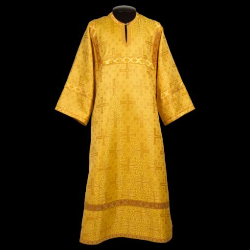 Стихарь желтый, шелк русский