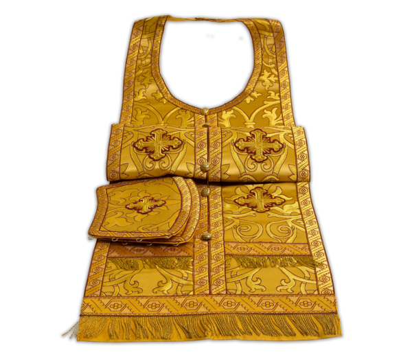Required vestments gold, Russian silk