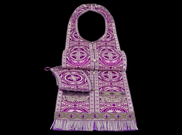 Required Vestments purple silk