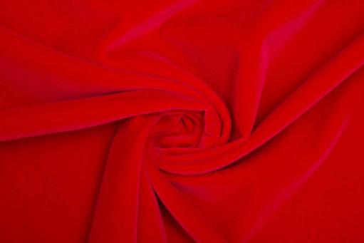 Scarlet red velvet