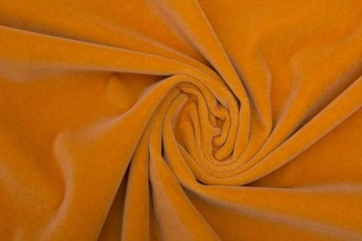 Velvet yellow orange