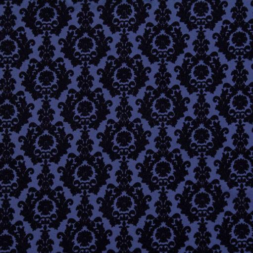 Velvet dark blue
