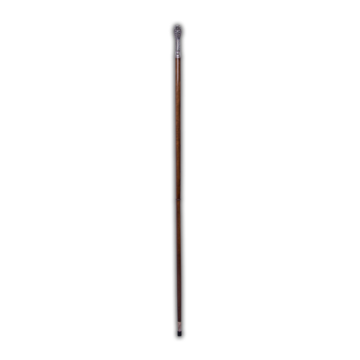 Wooden bishop's staff with niello Greece, without case