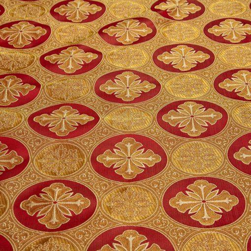 "Brocade ""Byzantium"" red / gold"