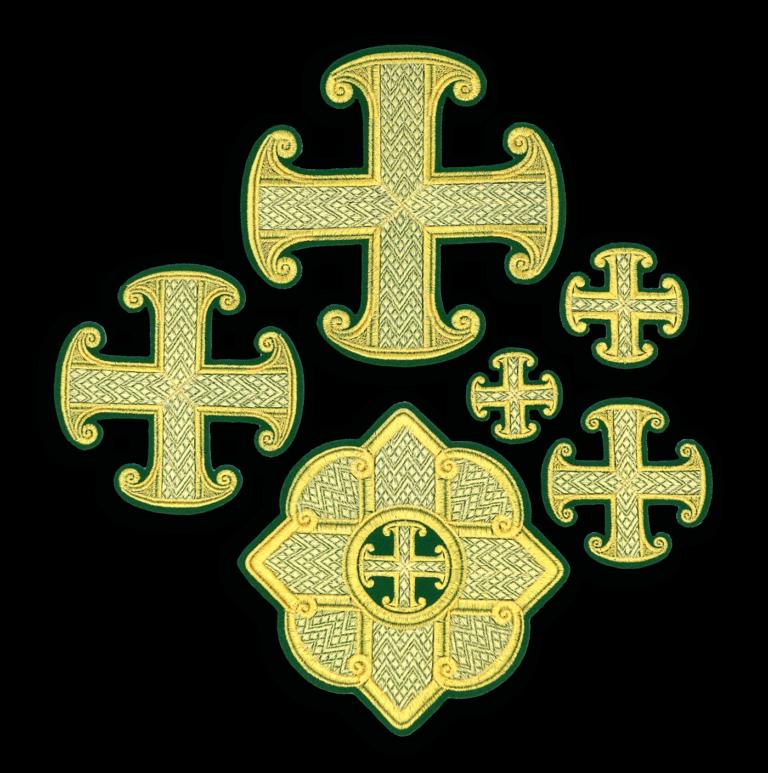 """Embroidered cross """"Filaret"""""""