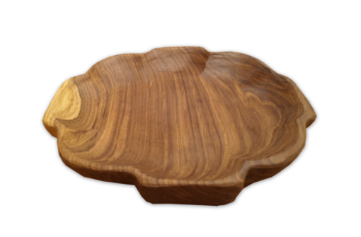 Wooden plate for prosphora