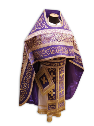 Priestly vestments Greek brocade