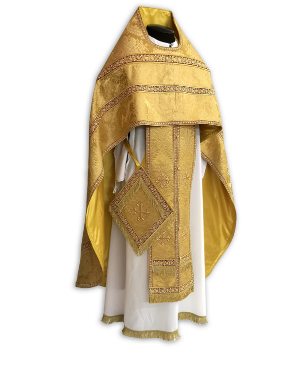 "Priestly vestments ""Aurelia"" yellow / gold"