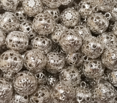"Buttons ""Antique"" silver"