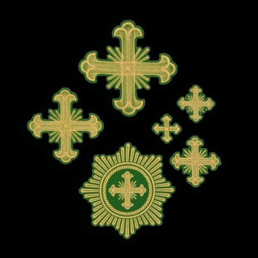 "Embroidered cross ""Nika"""