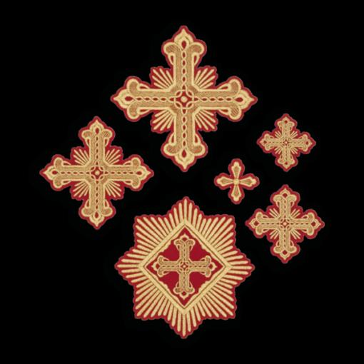 """Крест вышитый """"Праздничный"""""""