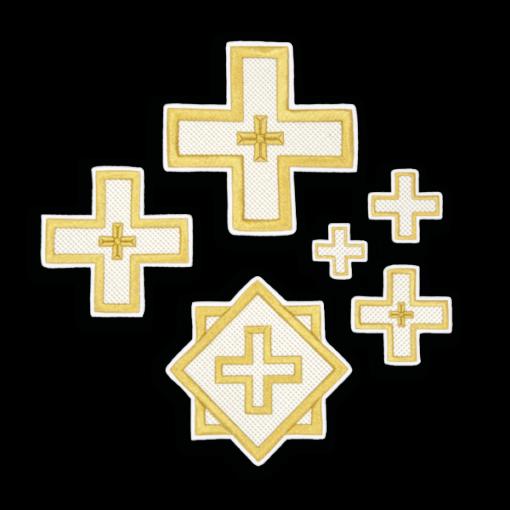 "Embroidered cross ""Novgorod"""