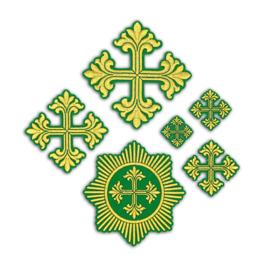 "Embroidered cross ""Bethlehem"""